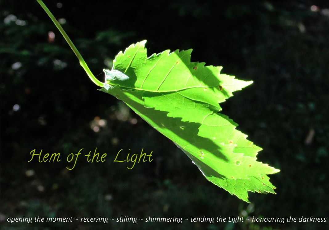 Hem of the Light - Leaf with Writing